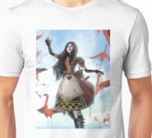 Queen of Hearts Dress- Alice The Madness Returns  Unisex T-Shirt