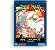 Shining Force II Japanese  Canvas Print