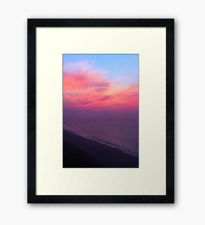 Grand Strand Morning Framed Print