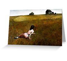 Christina's World Greeting Card