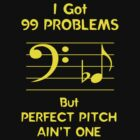 I Got 99 Problems But Perfect Pitch Ain't One by Samuel Sheats