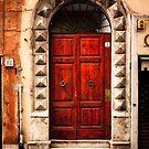 Doorway in Rome by Jai Honeybrook