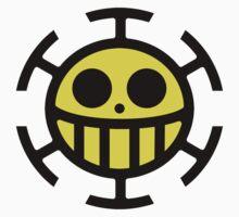 Heart Pirates Logo (Yellow Center) by Jeremiah88
