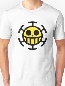 Heart Pirates Logo (Yellow Center) T-Shirt