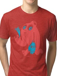 ink stain on my heart - color Tri-blend T-Shirt