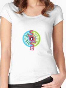 SOS Brigade The Meloncholy Of Haruhi Suzumiya Women's Fitted Scoop T-Shirt