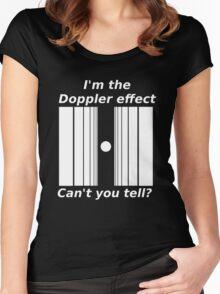 Sheldons Doppler effect Women's Fitted Scoop T-Shirt