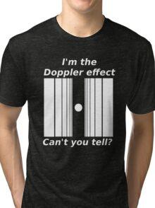 Sheldons Doppler effect Tri-blend T-Shirt
