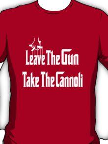 Leave The Gun Take The Cannoli Dark Hoodie T-Shirt
