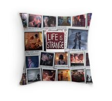 Life is Strange Moments Throw Pillow