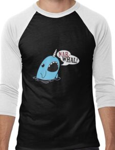 Narwhal! Men's Baseball ¾ T-Shirt