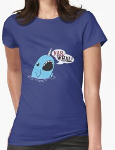 Narwhal! Womens Fitted T-Shirt