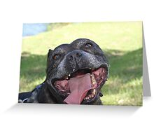 I will find you and LICK your screen! Greeting Card
