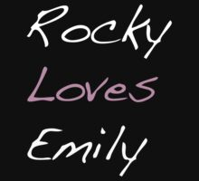 Rocky Loves Emily Kids Tee