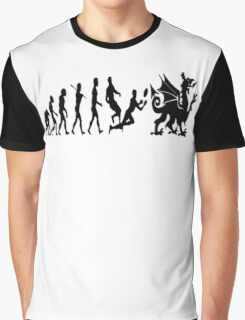 Welsh evolution Graphic T-Shirt
