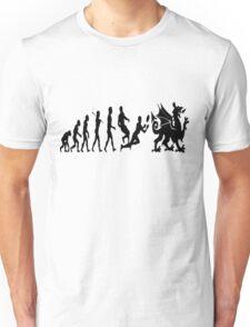 Welsh evolution Unisex T-Shirt