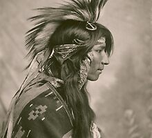 Cree Indian by TilenHrovatic