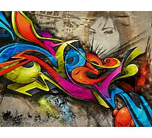 Graffin Photographic Print