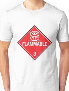 Flower Power Flammable Placard Unisex T-Shirt