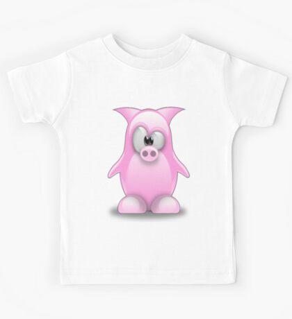 Piggy tux Kids Tee