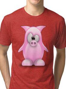 Piggy tux Tri-blend T-Shirt