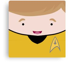 Captain James T Kirk Canvas Print