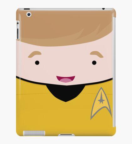 Captain James T Kirk iPad Case/Skin