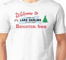 Welcome to Brighton, Iowa Unisex T-Shirt
