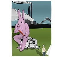 A Factory Alliance from My Year as a Rabbit Poster