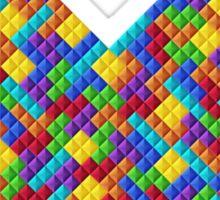 Heartris (w/ Text) Sticker