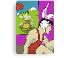 Master and Student Canvas Print
