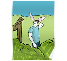 One in the Hole from My Year as a Rabbit Poster