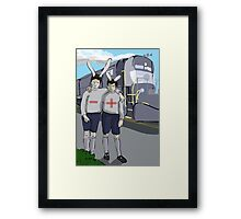 Positive and Negative from My Year as a Rabbit Framed Print