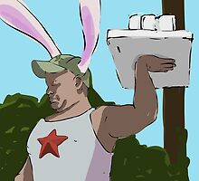 Six Pack from My Year as a Rabbit by Jimmy Sellars