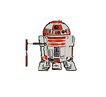 R2D2 MICHELANGELO Photographic Print