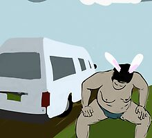 Sumo Summer Vacation from My Year as a Rabbit by Jimmy Sellars