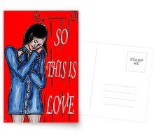 SO THIS IS LOVE Postcards