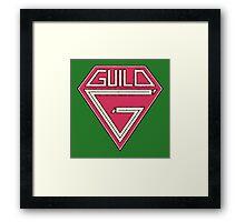 Old Guild Framed Print