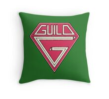 Old Guild Throw Pillow