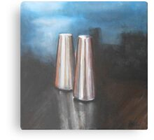 Salt And Pepper Shakers Canvas Print