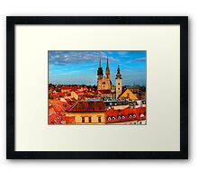 Croatia Cathedral  Framed Print