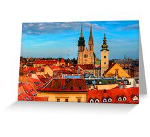 Croatia Cathedral  Greeting Card