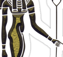 Bastet - Goddess of ancient Egypt Sticker
