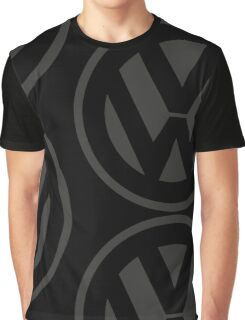 Volkswagen Logo Old School Graphic T-Shirt