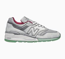 new balance shoes by beignetg