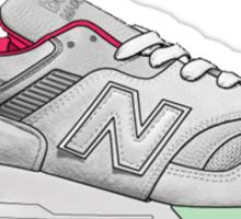 new balance shoes Sticker