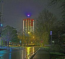 Mount Washington Water Tower by TaffyTrotski