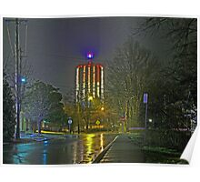 Mount Washington Water Tower Poster