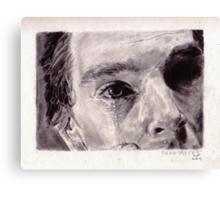 Tears (Benedict Cumberbatch as Van Gogh) Canvas Print