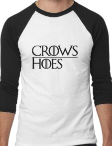 Crows Over Hoes Men's Baseball ¾ T-Shirt